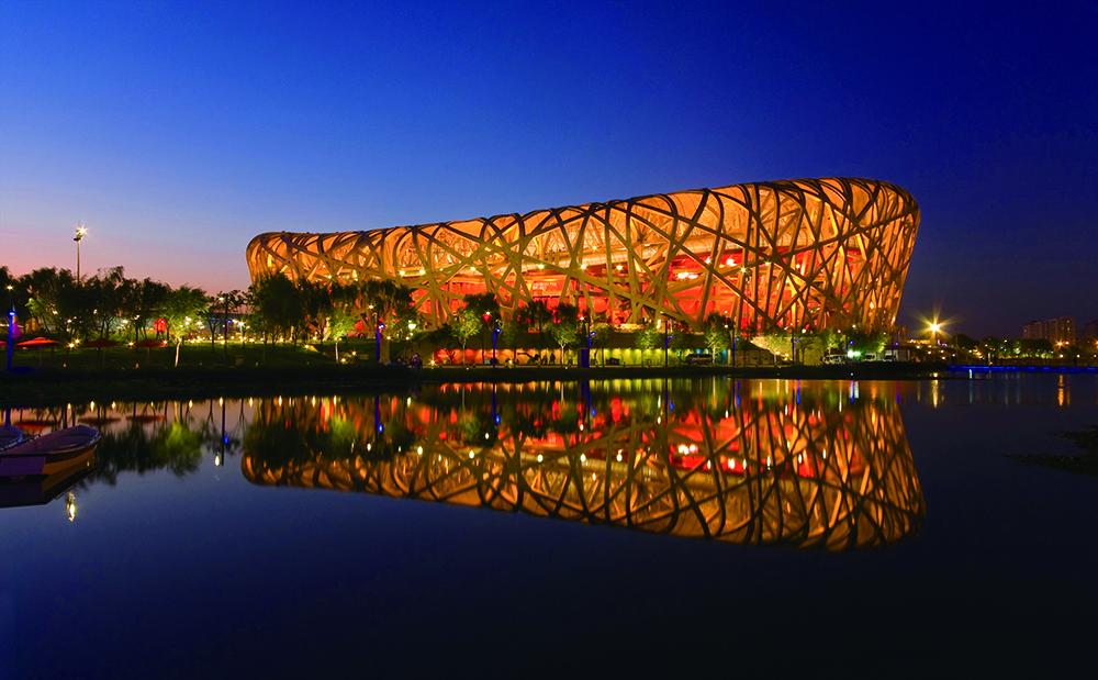 """北京奥运会""""鸟巢""""国家体育场"""