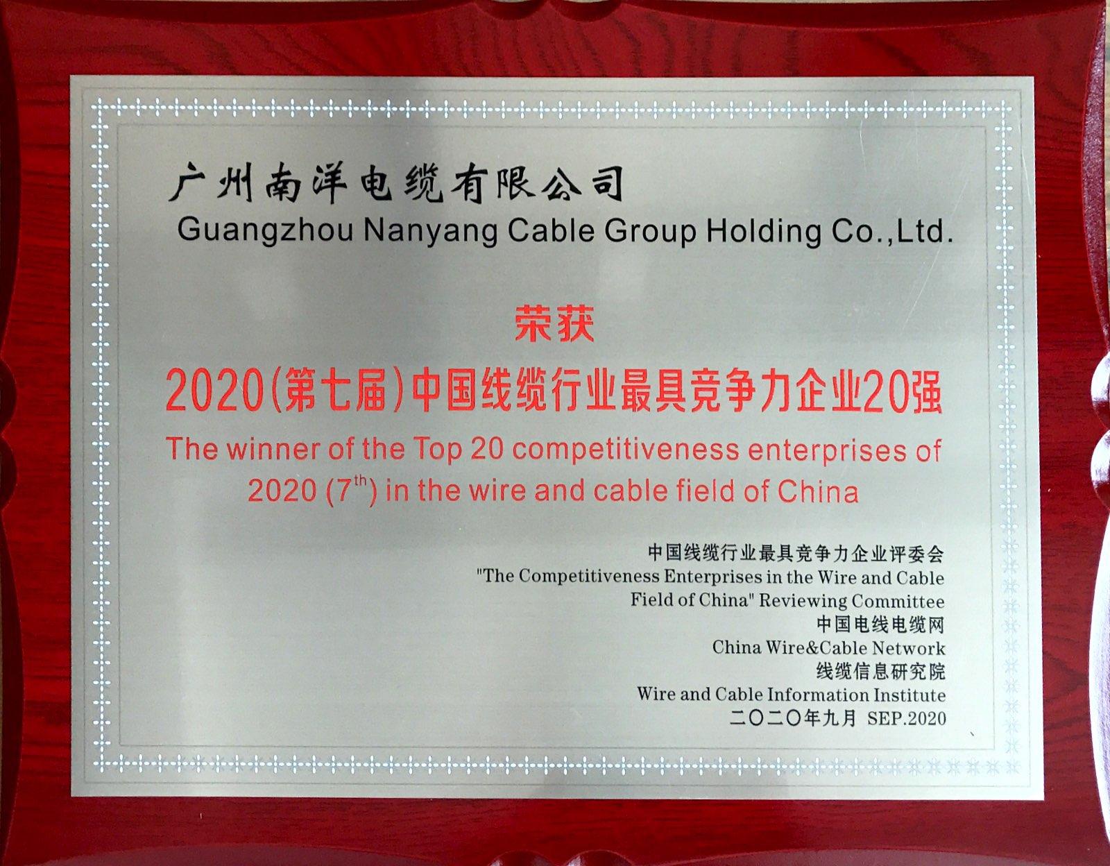 2020(第七届)中国线缆行